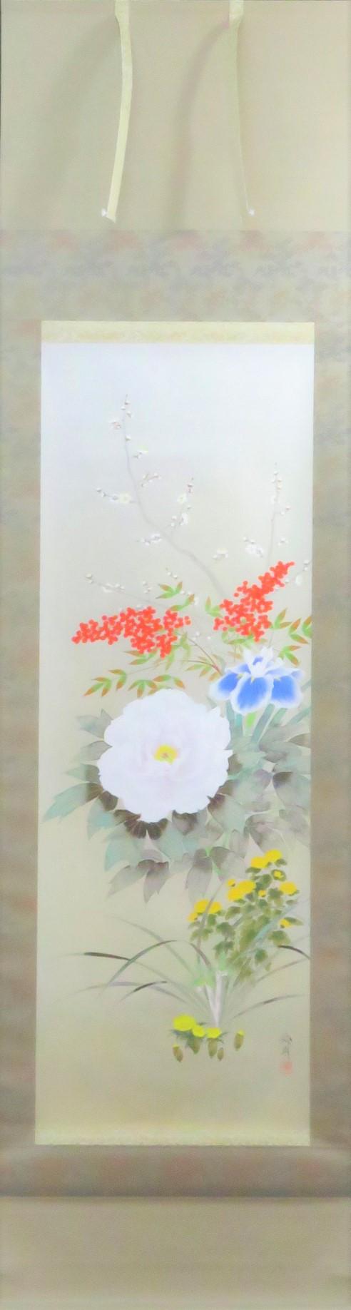 出口華凰作「四季花」 1